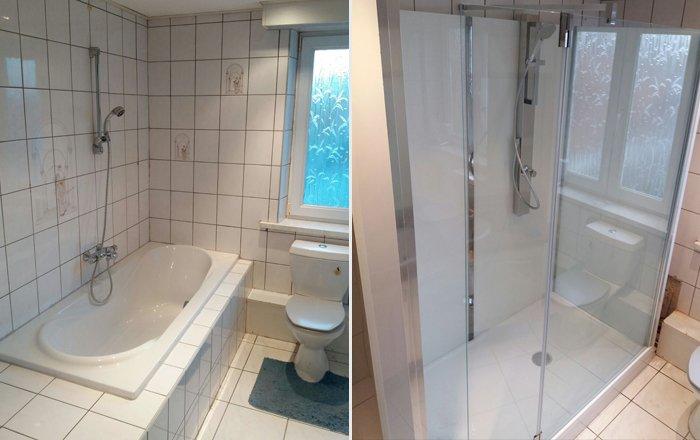 Onze badkamer installaties practicomfort for Installatie badkamer